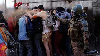 HRW acusa a Chile de 'graves violaciones de los Derechos Humanos'