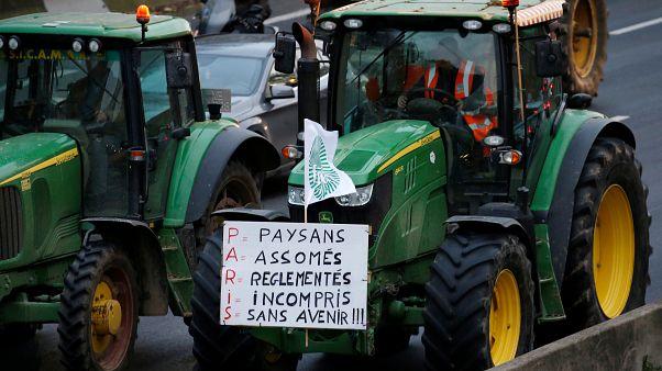 Les agriculteurs mobilisés dans toute la France