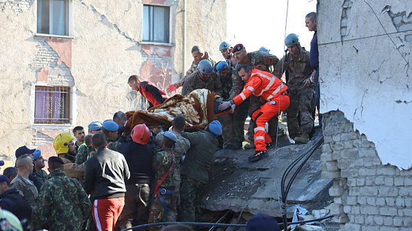 شمار کشته شدگان زلزله در آلبانی به ۲۵ نفر رسید