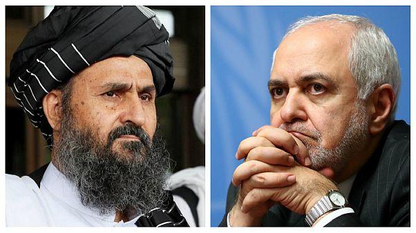 رئیس دفتر سیاسی طالبان در تهران با ظریف دیدار کرد