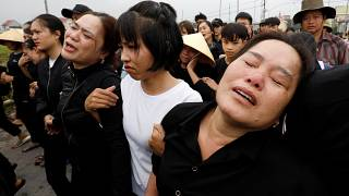 The families of the victims are attending funerals as their loved ones are repatriated