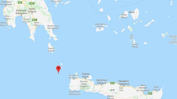 Seebeben der Stärke 6,1 vor Kreta