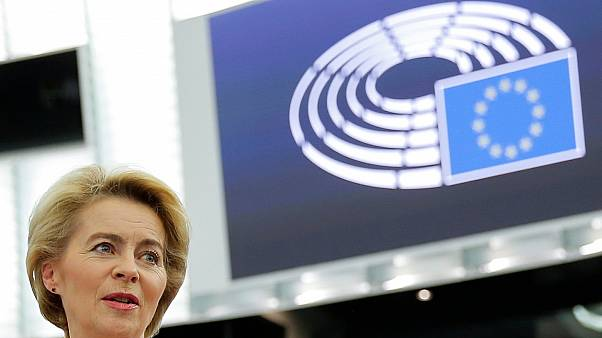 """Visto bueno del Parlamento Europeo a la Comisión """"Von der Leyen"""""""