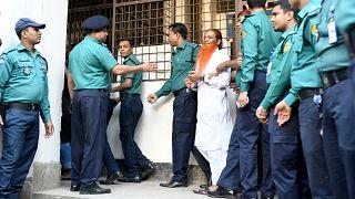 Bangladeş'te idama mahkum edilen Holey Artisan Restoran saldırganlarından biri mahkemeye getirildi