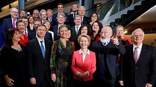 همه مردان و زنان کمیسیون اروپا در دوره جدید