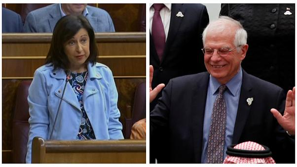 Margarita Robles asumirá temporalmente la cartera de Exteriores de Josep Borrell