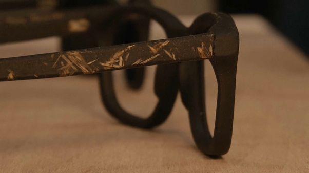 Transformar restos de café em óculos de sol