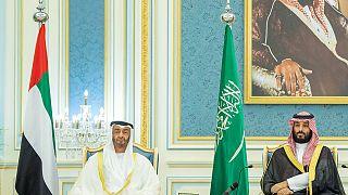 شاهد: محمد بن سلمان في الإمارات والملف اليمني وأرامكو على طاولة النقاش