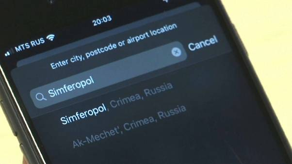 The change appears to have been made for Apple users registered as being in Russia