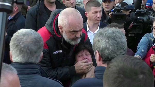 Uccisa dal terremoto la fidanzata del figlio del premier albanese