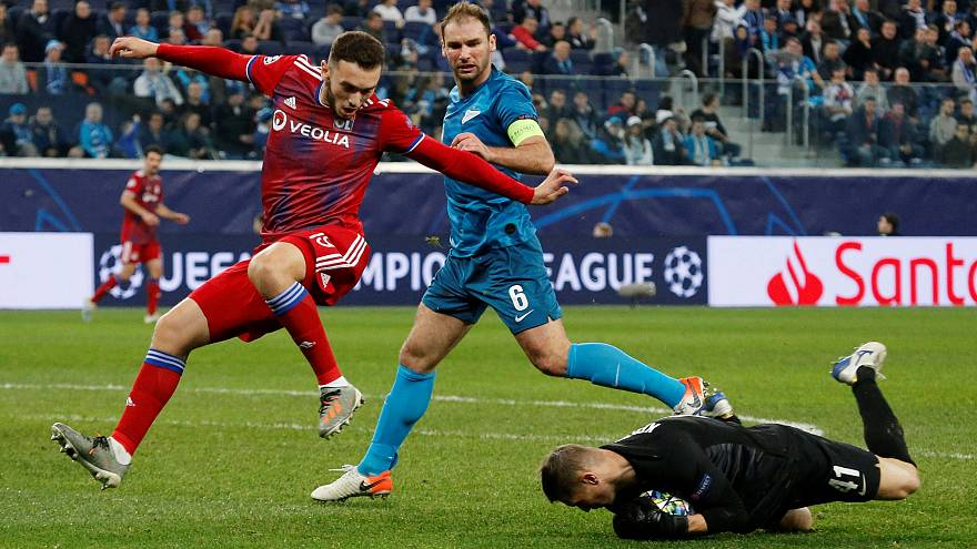 Лига чемпионов: «Зенит» обыграл «Лион»