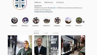Screengrab from Bundeswehr Instagram feed