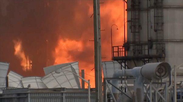 Texas: Chemiefabrik fliegt in die Luft