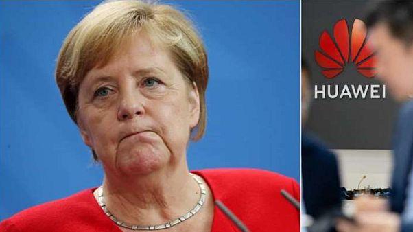 Angela Merkel - Huawei