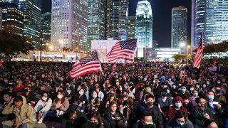 China retorts after Trump signs bill into law backing Hong Kong protesters | #TheCube