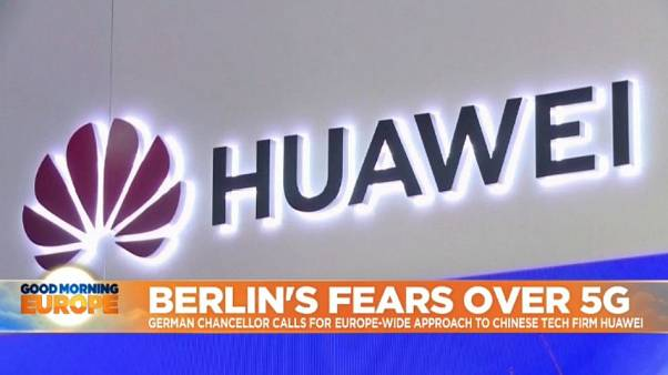 Fears over 5G: Merkel sounds warnings over Huawei spying claims