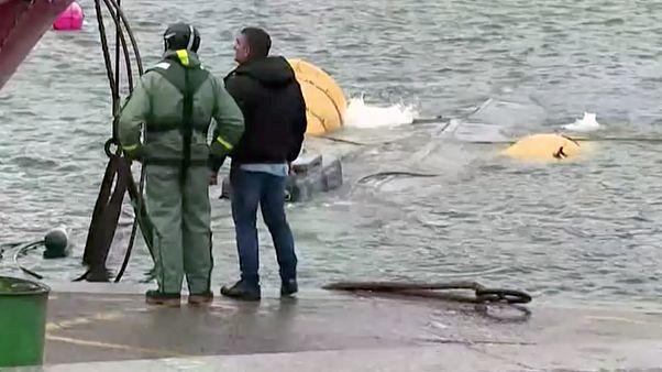 3 tonna kokainnal futott zátonyra egy csempész tengeralattjáró