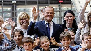 """""""Platz in der Hölle"""" für Brexiteers: Donald Tusks beste Sprüche"""