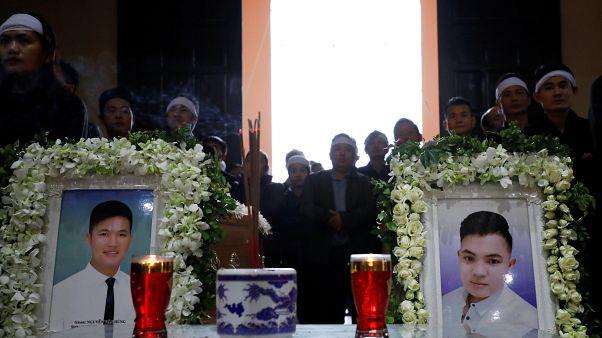 Erste Tote aus Kühllaster in Vietnam beigesetzt