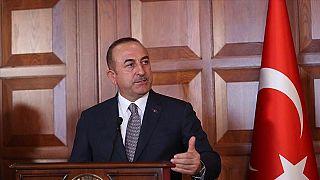 Bakan Çavuşoğlu'dan Barış Pınarı Harekatı'nı eleştiren Macron'a: 'Terör devleti kurmak istiyordu'