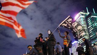Hálás hongkongi tüntetők