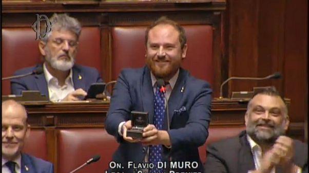 Leánykérés a római parlamentben