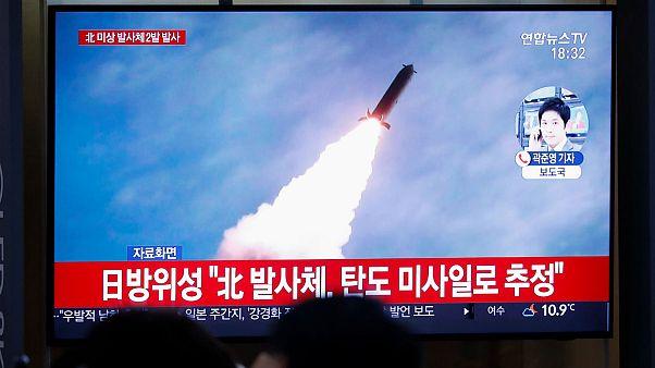 رهبر کره شمالی از آزمایش «موفقیتآمیز» دو موشک اظهار رضایت کرد