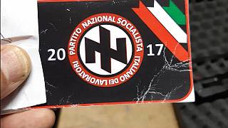 Police said the group planned to use simialr name and symbols to the Nazi party