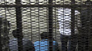 عدد من السجناء المصريين (أرشيف).