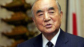 رئيس الوزراء الياباني السابق ياسوهيرو ناكاسوني