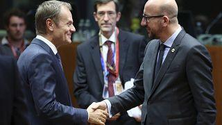 Дональд Туск передал полномочия главы Евросовета Шарлю Мишелю