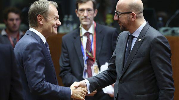 Passage de témoin à la tête du Conseil européen