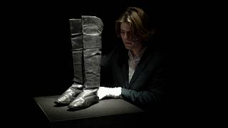 Boots thought to have belonged to former French Emperor Napoleon Bonaparte