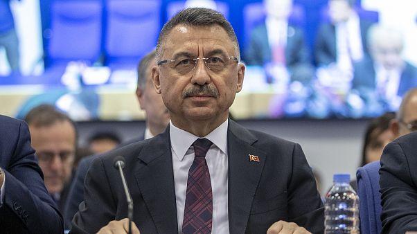 Cumhurbaşkanı Yardımcısı Fuat Oktay, TBMM Plan ve Bütçe Komisyonunda