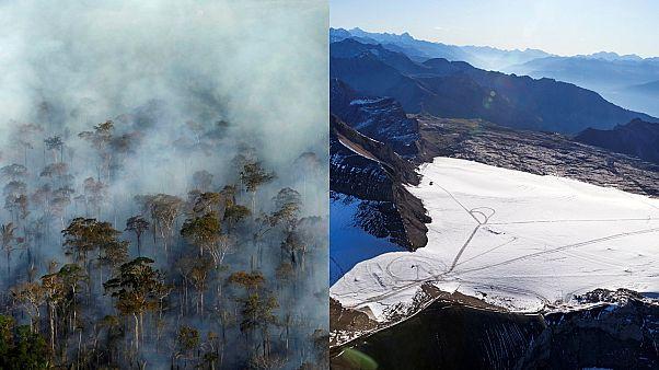 Araştırma: Amazon yangınları, And Dağları buzullarını daha hızlı eritiyor
