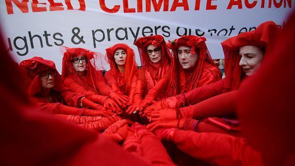 إضراب من أجل أزمة المناخ في سيدني أستراليا  29 نوفمبر/ تشرين الثاني 2019