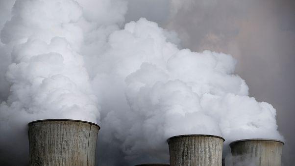 Deutsches Kohlekraftwerk in Niederaußem
