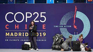 Le Centre des congrès à Madrid, où la COP25 est organisée, le 1er décembre 2019.