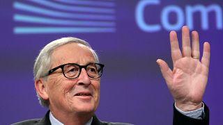 Commissione europea: i saluti di Juncker