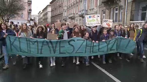Tetteket várnak a magyar kormánytól a klímatüntetők