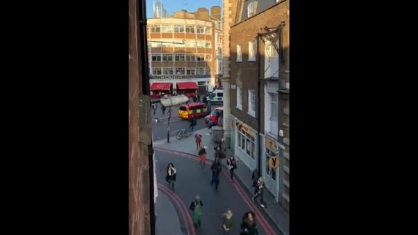 À Londres, les scènes de panique quand l'assaillant a été abattu