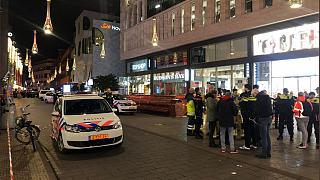 The stabbing happened in front of the Hudsons Bay store in The Hague