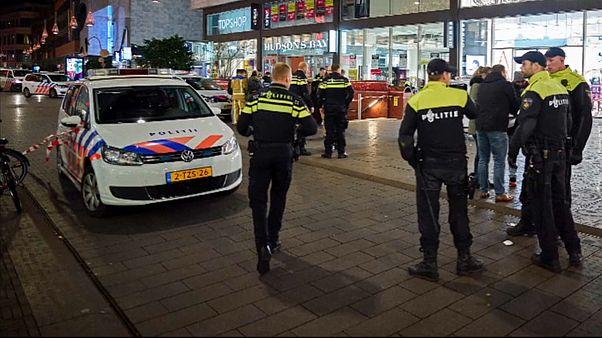 Нападение с ножом в Гааге, есть раненые
