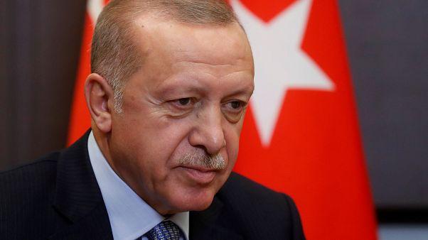 """Erdogan le pide a Macron que examine """"su propia muerte cerebral"""""""