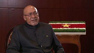 Surinam Devlet Başkanı Desire  Bouterse
