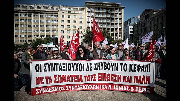 Συλλαλητήριο στην Αθήνα για την κοινωνική ασφάλιση