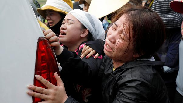 Тела вьетнамцев доставили домой