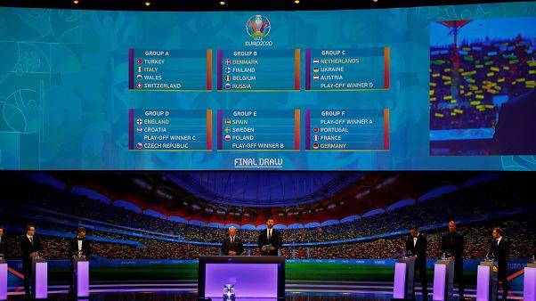قرعهکشی یورو۲۰۲۰؛ آلمان، فرانسه و پرتغال در گروه مرگ قرار گرفتند