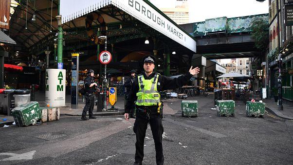 Nach dem Anschlag: London in Anspannung, London Bridge noch gesperrt