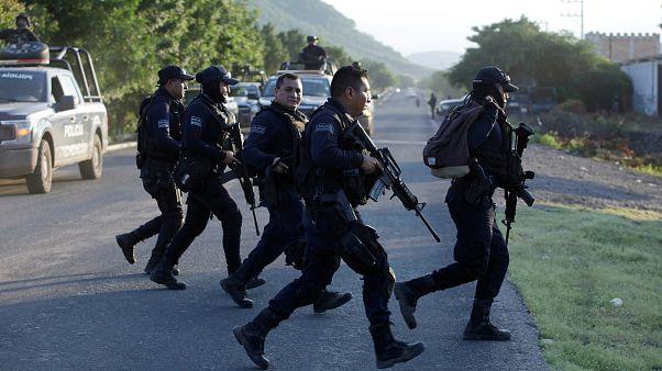 Meksikalı güvenlik güçleri / El Aguaje